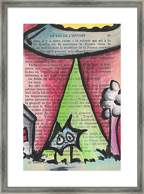 Abducted Framed Print by Jera Sky