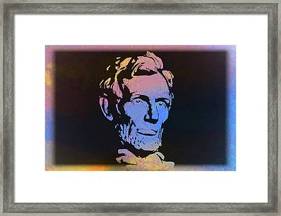 Abe Framed Print by Bill Cannon