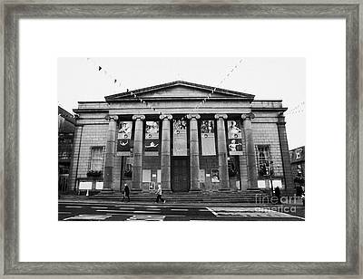 Aberdeen Music Hall Formerly The Citys Assembly Rooms Union Street Scotland Uk Framed Print