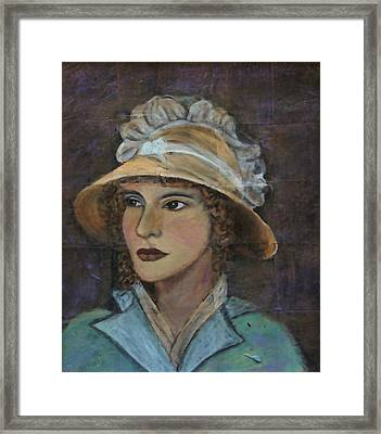 Abigail Framed Print by The Art With A Heart By Charlotte Phillips