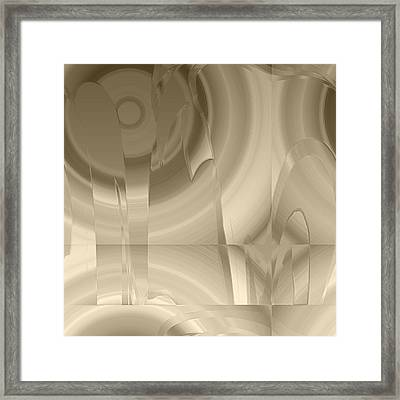 Abiss Framed Print