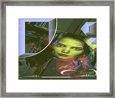 About Art Streetart Framed Print