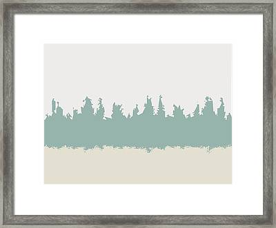 Above And Below Framed Print by Jeff Iverson