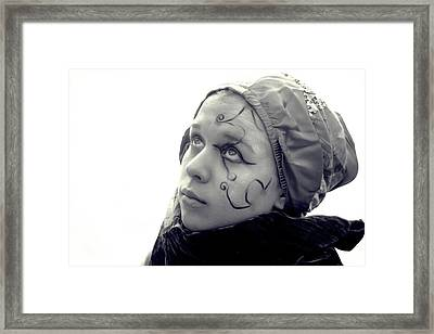 Above And Beyond Framed Print by Laura Pineda