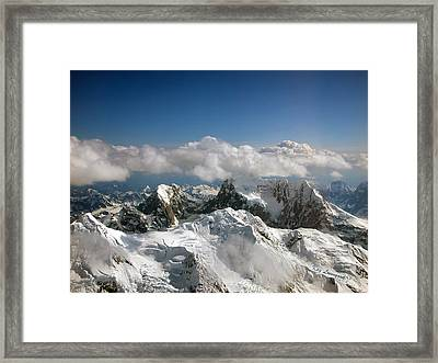Above Mckinley Framed Print