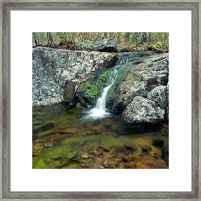 Above Mina Sauk Falls In Taum Sauk Mountain State Park Framed Print