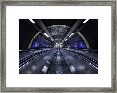 Above The Below Framed Print by Evelina Kremsdorf