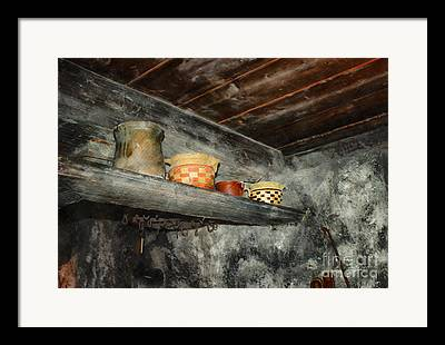 Above The Stove Framed Prints