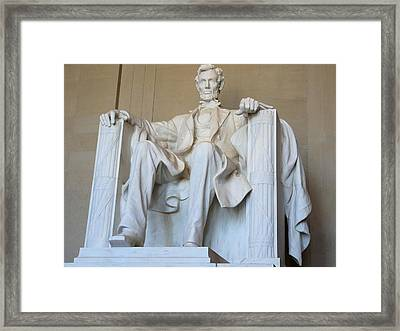 Abraham Lincoln Framed Print by