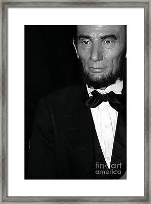 Abraham Lincoln Framed Print by Sophie Vigneault