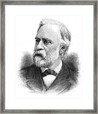 Abram Stevens Hewitt Framed Print by Granger