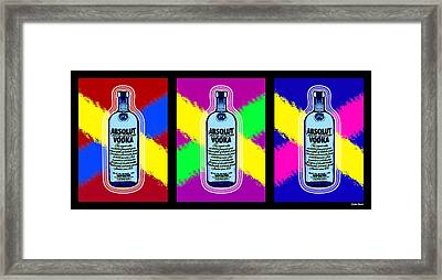 Absolut Framed Print by Stephen Younts