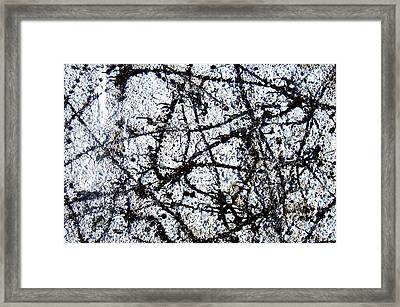 Abstact Hyper-reality Framed Print