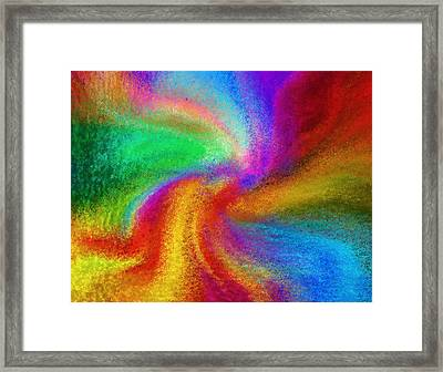Abstract - Amorphous  Framed Print
