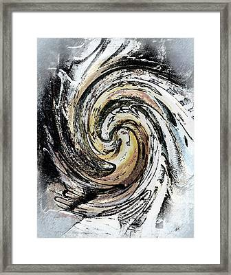 Abstract - Turmoil Framed Print by Gerlinde Keating - Galleria GK Keating Associates Inc