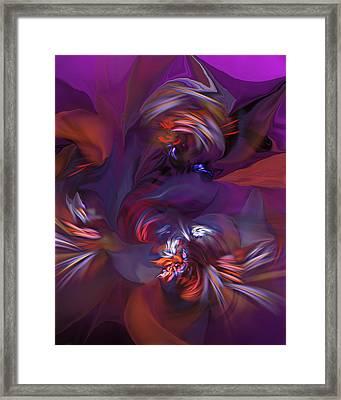Abstract 012412b Framed Print