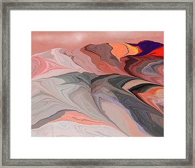 Abstract 012812abc Framed Print