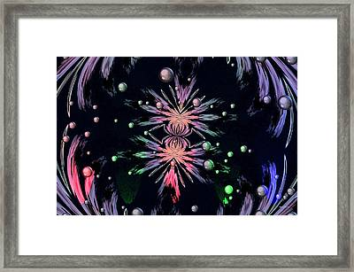 Abstract 014 Framed Print by Maria Urso
