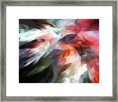 Abstract 062612 Framed Print by David Lane