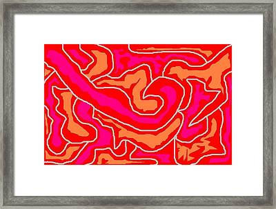 Abstract 1 Framed Print by Jerry Conner
