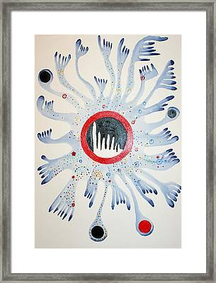 Abstract 10 Framed Print by Sandra Conceicao