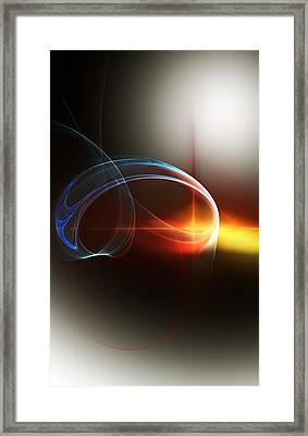 Abstract 101311c Framed Print by David Lane