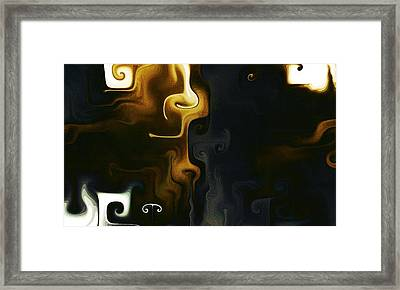 Abstract 102 Framed Print