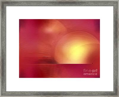 Abstract 11 Framed Print by John Krakora