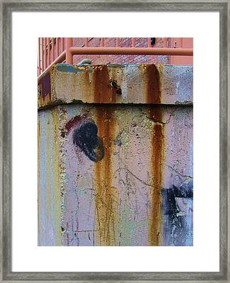 Abstract-12 Framed Print by Todd Sherlock