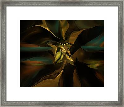 Abstract 120811b Framed Print