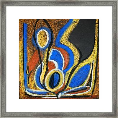 Abstract 13 Framed Print by Sandra Conceicao