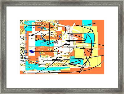 Abstract 15 Framed Print by Jerry Conner