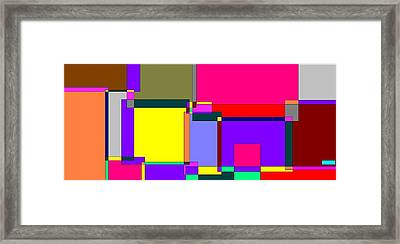 Abstract 19 Framed Print by Jerry Conner