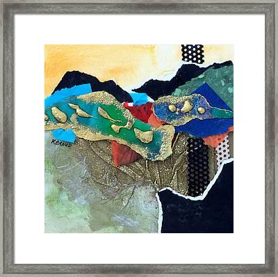 Abstract 2011 No.1 Framed Print