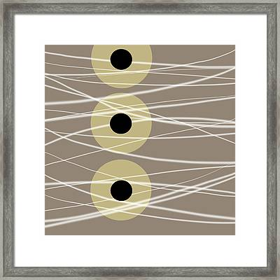 Abstract 206 Framed Print by Ann Powell