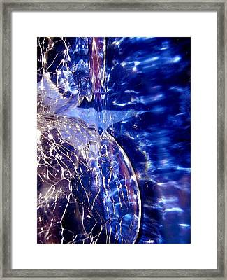 Abstract 2063 Framed Print by Stephanie Moore