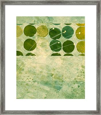 Abstract 207 Framed Print by Ann Powell