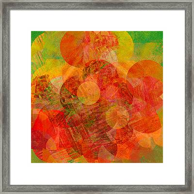 Abstract 210 Framed Print by Ann Powell