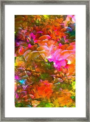 Abstract 271 Framed Print by Pamela Cooper