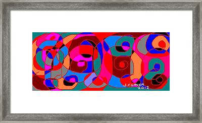 Abstract 29 Framed Print by Jerry Conner