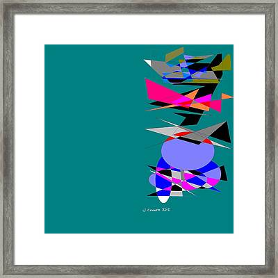 Abstract 33 Framed Print by Jerry Conner