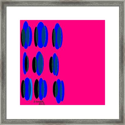 Abstract 35 Framed Print by Jerry Conner