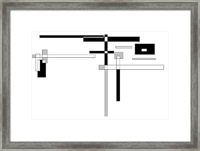 Abstract 4 Framed Print by Jerry Conner