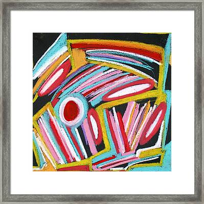 Abstract 4 Framed Print by Sandra Conceicao