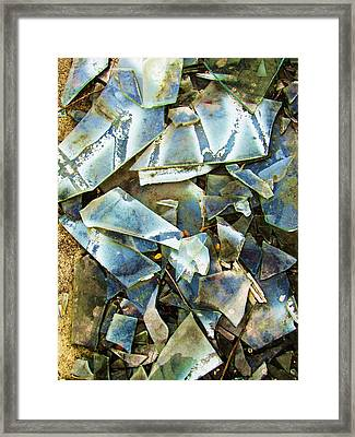 Abstract-41 Framed Print by Todd Sherlock