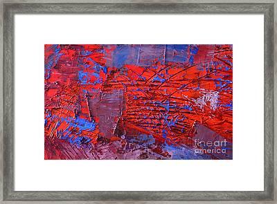 Abstract 423 Framed Print by Ana Maria Edulescu