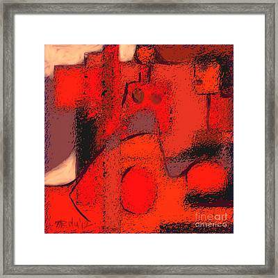Abstract 463 Framed Print by Nedunseralathan R