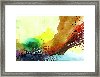 Abstract 5 Framed Print by Anil Nene