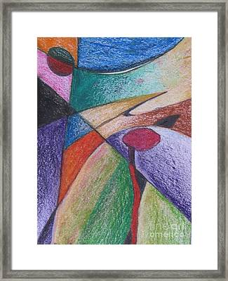 Abstract 510 Framed Print by Nedunseralathan R