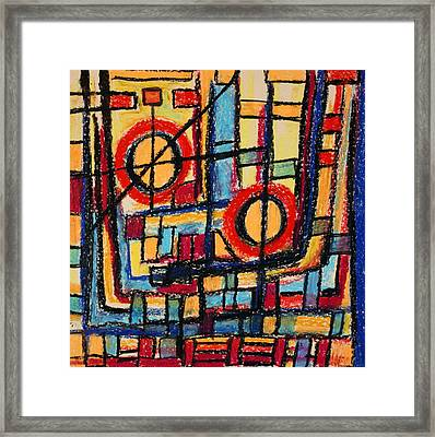 Abstract 53 Framed Print by Sandra Conceicao